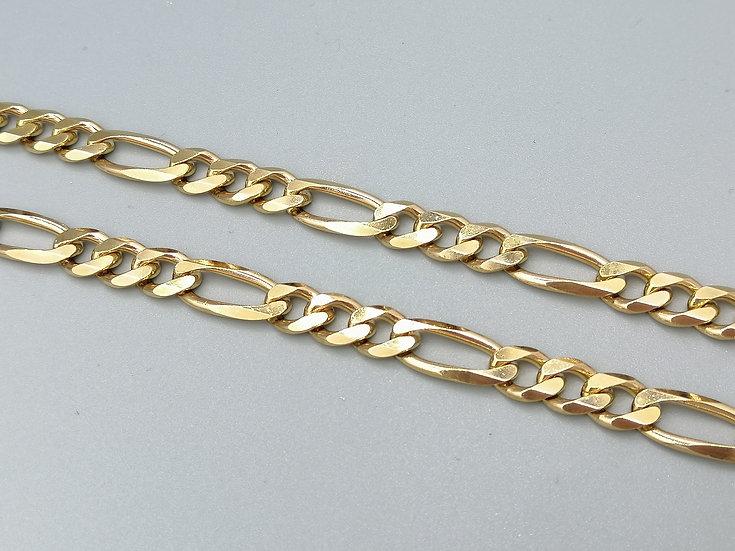 9ct Gold Figero Chain
