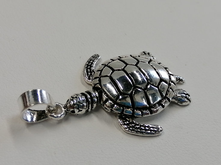 925 Sterling Silver Turtle Charm