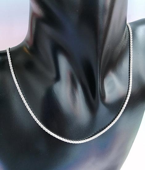 925 Silver Spiga Chain
