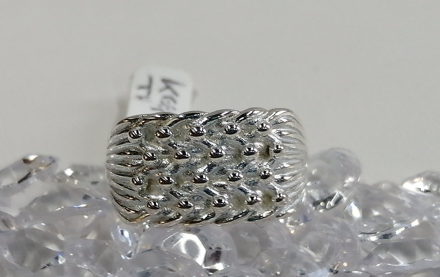 925 Silver Keeper Ring