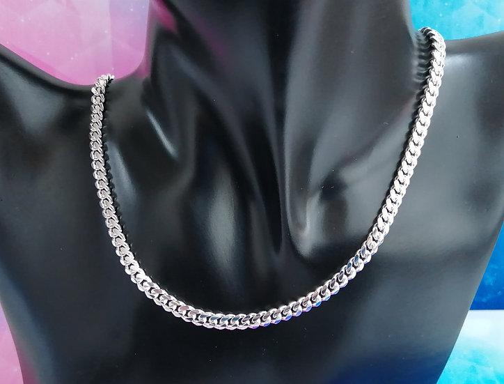 925 Silver Round Dense Curb Chain