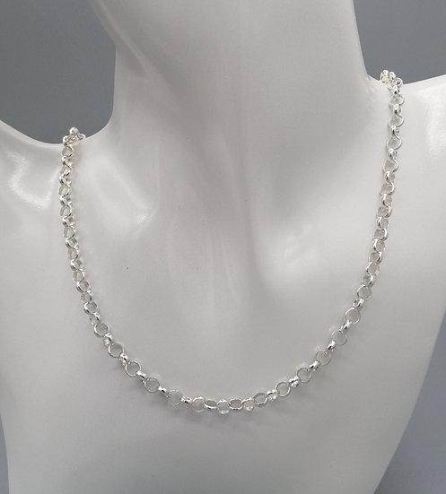 925 Silver Round Belcher Chain