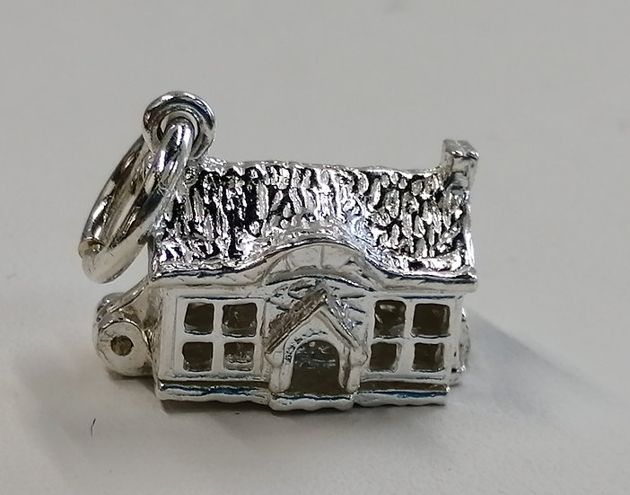 925 Sterling Silver Cottage Charm