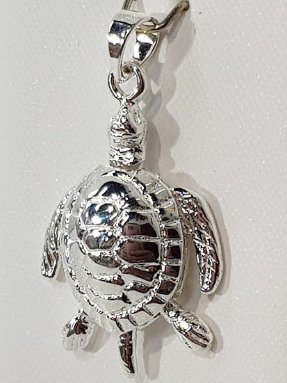 925 Sterling Silver Turtle
