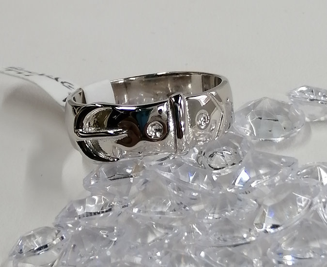 925 Silver Buckle Ring