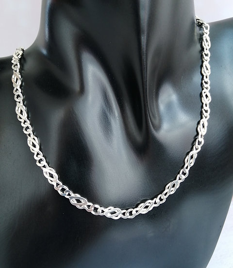 925 Silver Celtic Chain