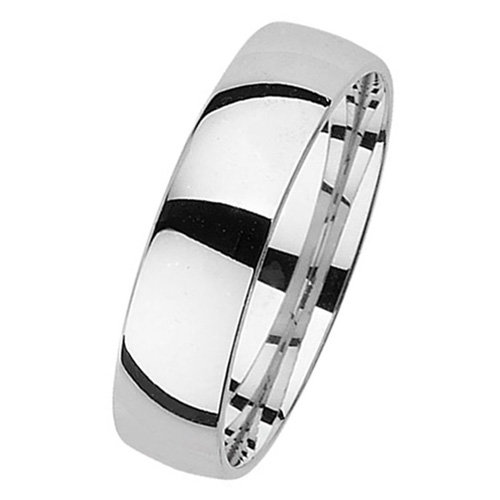 925 Silver 5mm Plain Band - Court - Special Order*