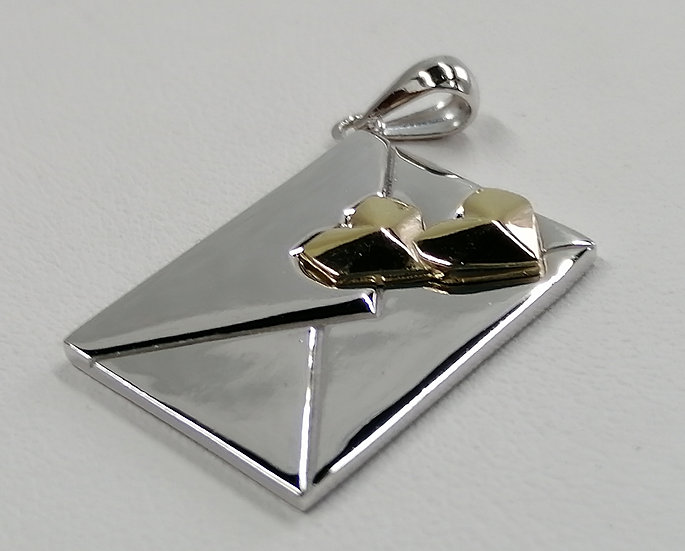 925 Sterling Silver Love Letter Charm