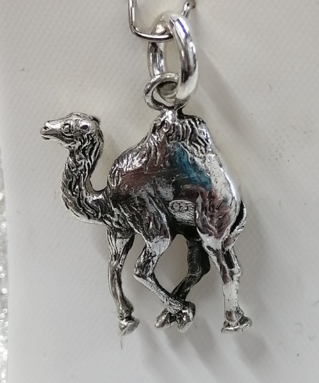 925 Sterling Silver Camel Charm
