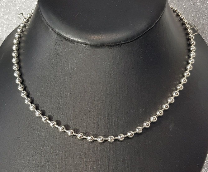 925 Sterling Silver Beads Chain