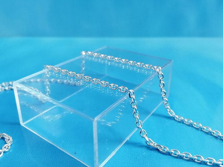 925 Silver D/C Trace Chain