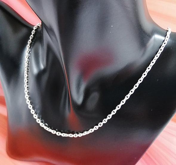 925 Silver Diamond Cut Trace Chain