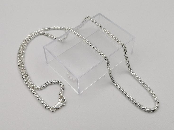 925 Silver Round Box Chain