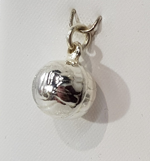 925 Sterling Silver Football Charm