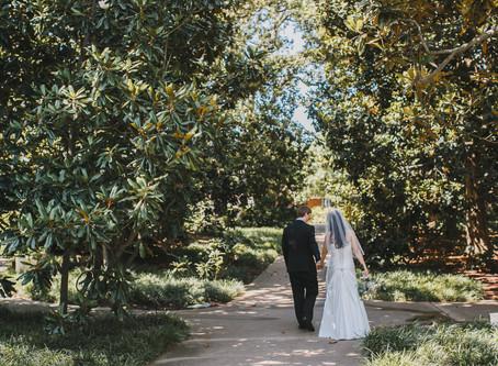 Bing Bing + James - Dallas Arboretum Micro Wedding