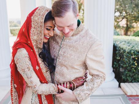 Nadia + Robert - Lone Star Mansion Wedding