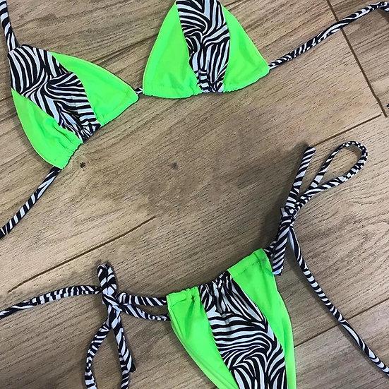 Baddie Animal Print Bikini