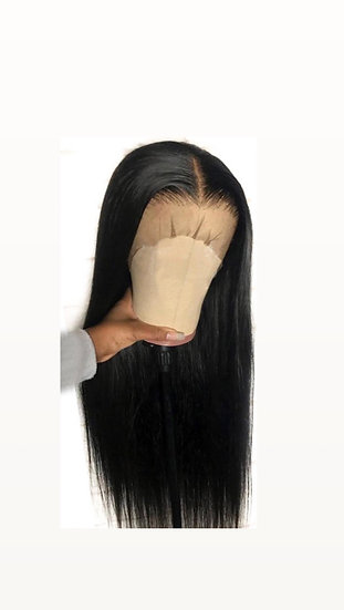 Luxury Silky Straight Frontal Wig