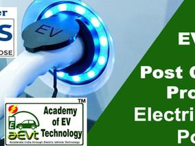 Post Graduate Program Electric Vehicle Power