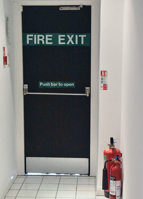 Fire Exit Open Space Plymouth