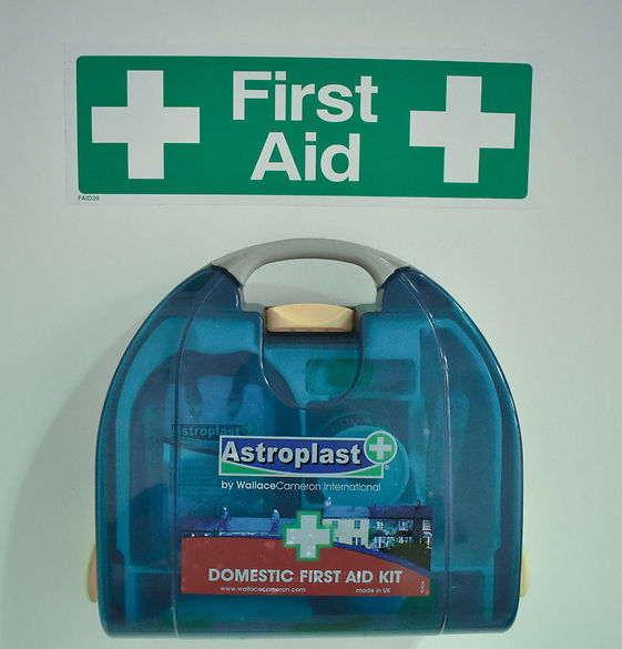 First Aid Box Open Space Plymouth