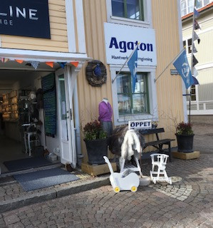 Nu finns jag på Agaton, Marstrand!