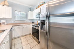 Stainless kitchen - house 2