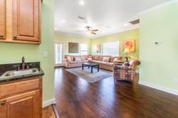 Kithenette and Living Room