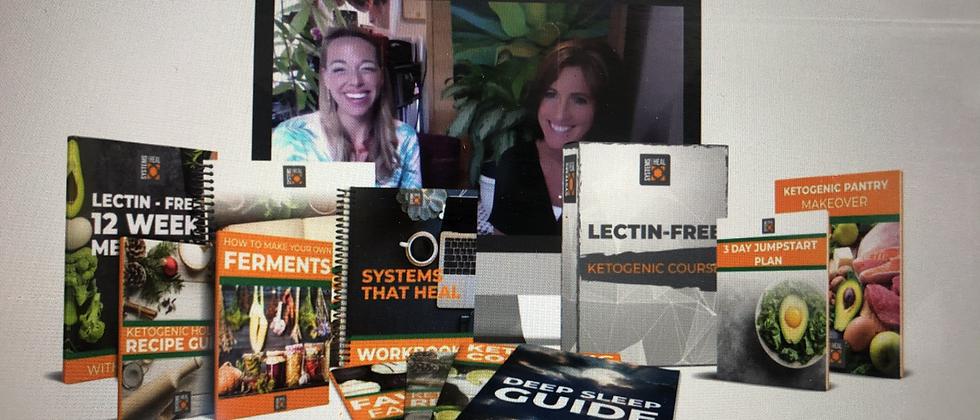Heal Yourself Ketogenic Lectin-Free Masterclass!