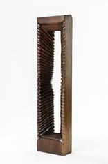 "Wood Sculpture ""Umbra Ostium"" - By Levi Smith."