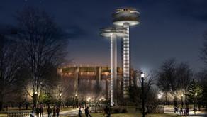 Restoration Begins at New York State Pavilion's Observation Towers