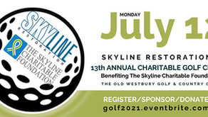Skyline's 13th Annual Charitable Golf Classic is on July 12, 2021