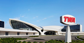 TWA Hotel opens in JFK airport's iconic flight center