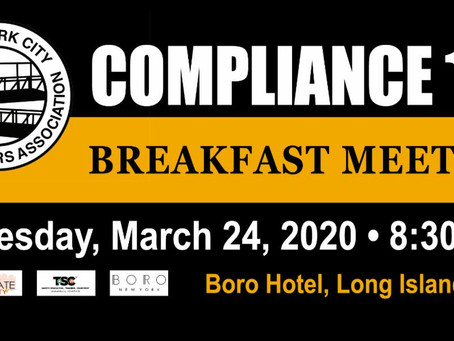Compliance 101 Breakfast