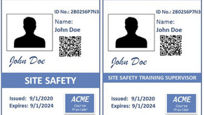 Defining the Specs: What Info Should a Site Safety ID Card Contain?
