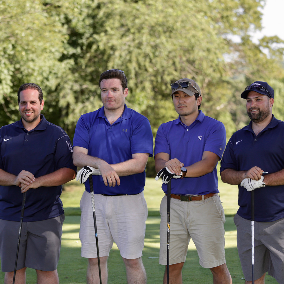 The Winning Foursome (L-R): Paul Losito, Niall Croke, David Choe, Anthony Meo • Photo: Geosound