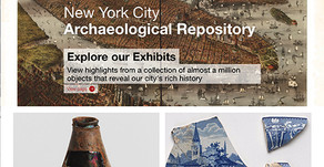 New York City's Archaeological Finds Featured On a New Informative Website