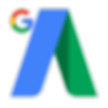 Colorful green and blue Google Adwords Ads new updated flat logo design - The Best Marketing Agency