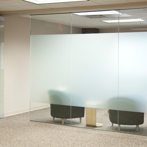 Glass Office Wall