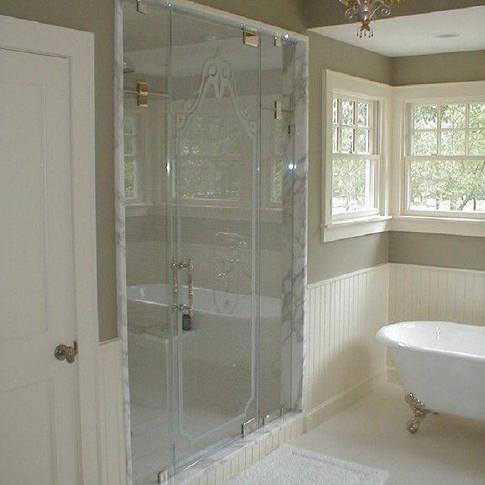 Steam Shower Master bath