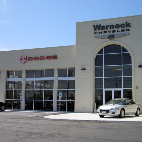 Automotive Dealership,Curtainwall