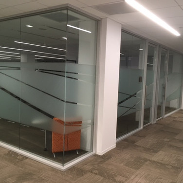 Glass walls,Offices
