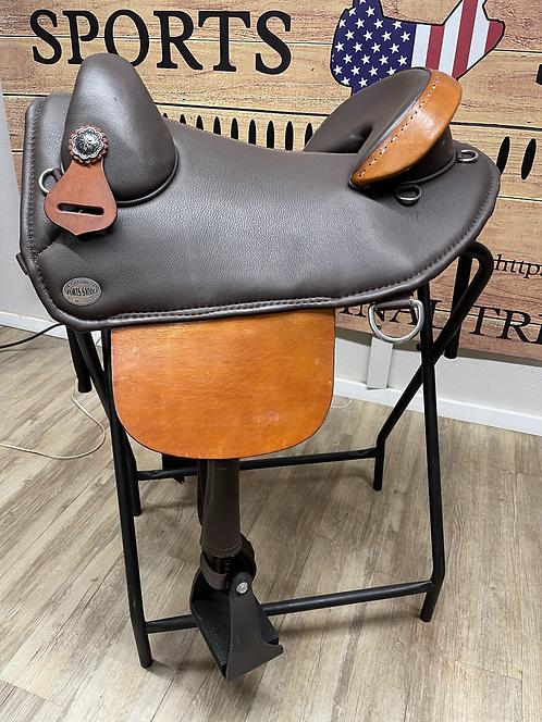 """#11884 -  15"""" Basic Endurance Saddle"""