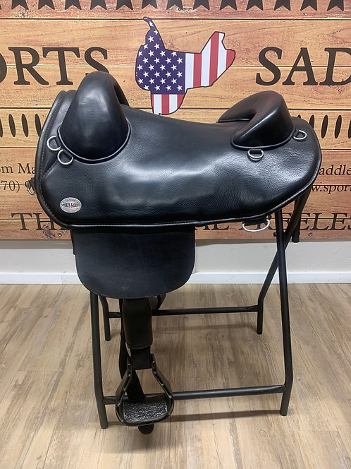 """#4550 - 15.5"""" Endurance Saddle (Used)"""