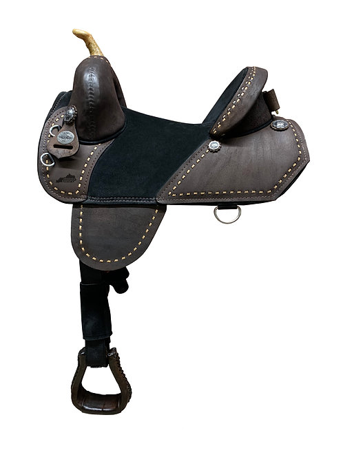 Chocolate Roughout Barrel Racer (QS2)