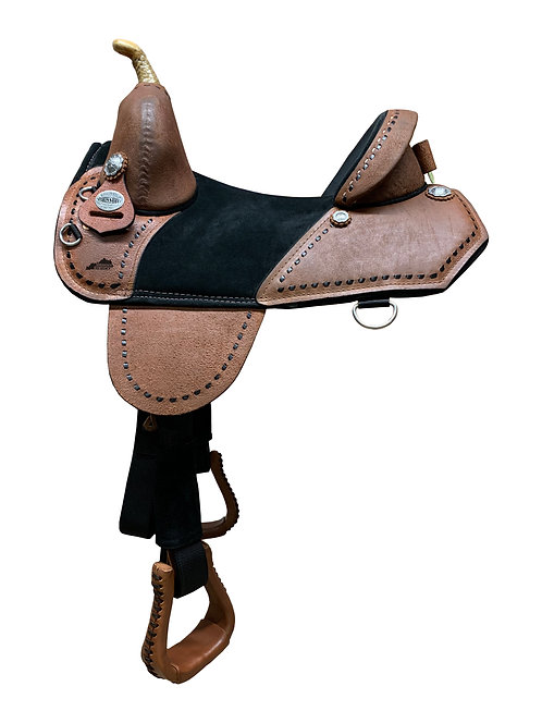 Chocolate Roughout Barrel Racer (QS5)