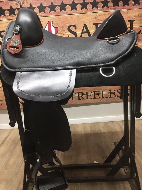"""#11811 - 16.5"""" Plantation Saddle"""