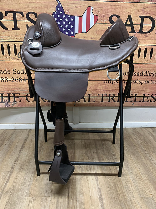 """#11741 - 14.5"""" Plantation Saddle"""