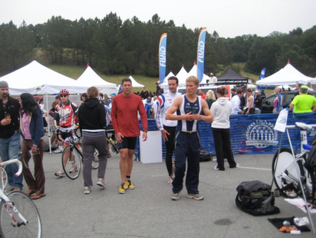 What time should I show up to my triathlon?