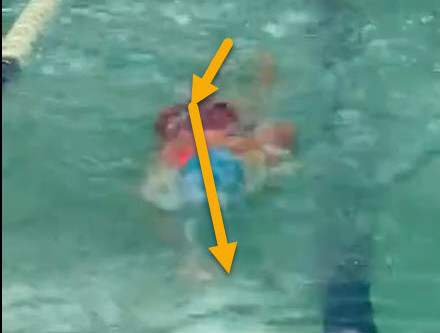 """How To Correct """"Snaking"""" In Your Swimming Stroke"""